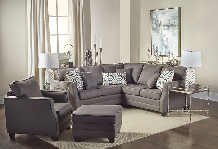 Tate 2-Piece Sectional | Living Room Decor