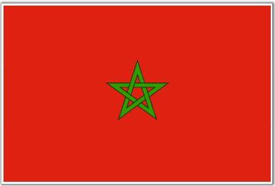 Drapeau Maroc (#Flag of #Morocco)