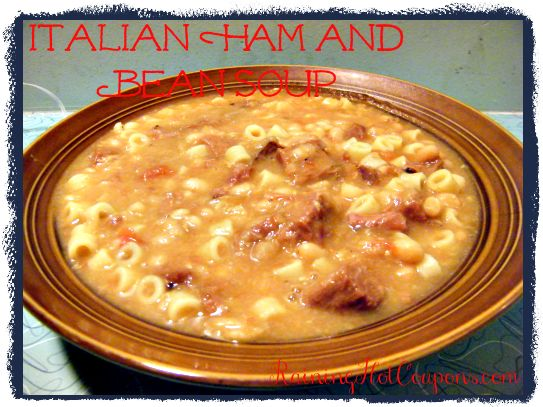 Italian Ham and Bean Soup Recipe (for Crock-Pot or Stove Top!)