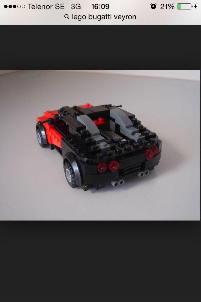 bugatti veyron rear legos pinterest bugatti veyron lego and legos. Black Bedroom Furniture Sets. Home Design Ideas