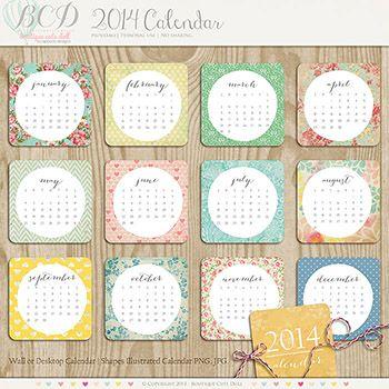 2014 Calendar (English)