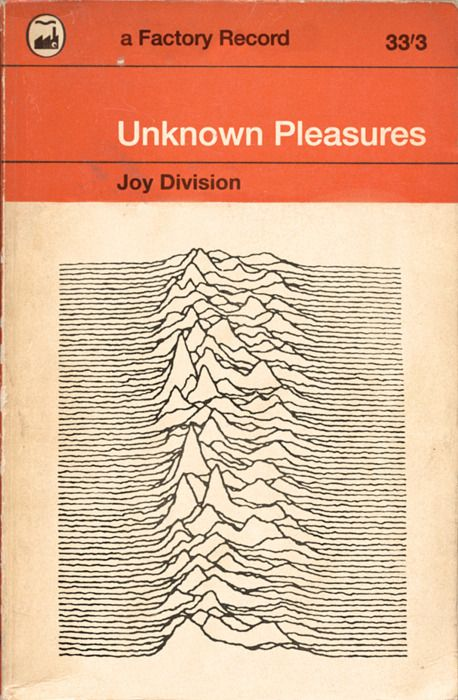 Joy Division / Unknown Pleasures / Not Penguin Books  | David J Weissberg