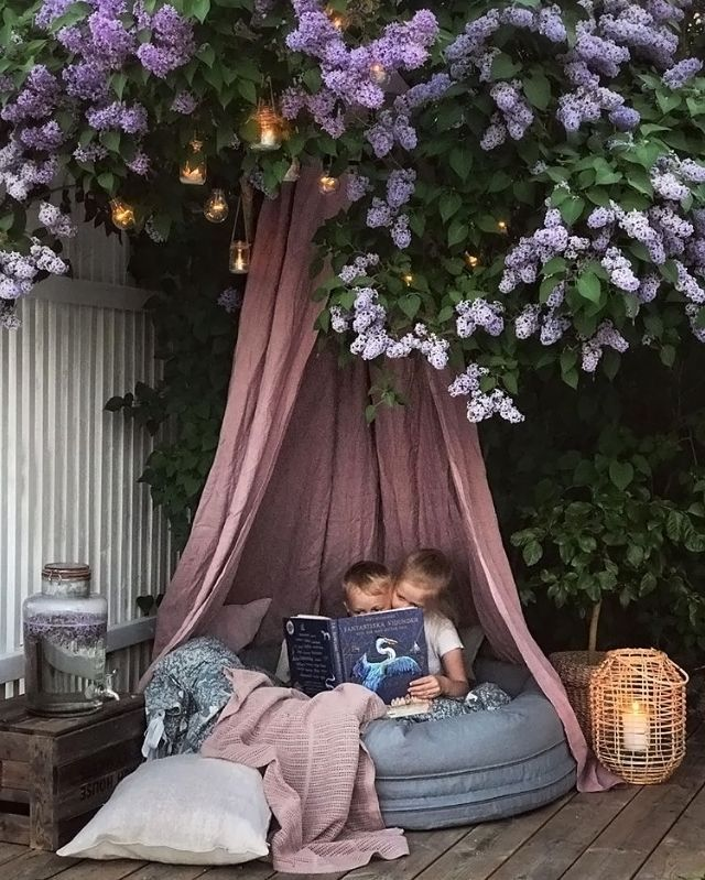 Garten Ideen Mit Kindern Vintage Garden Decor Diy Garden Decor Canopy Outdoor