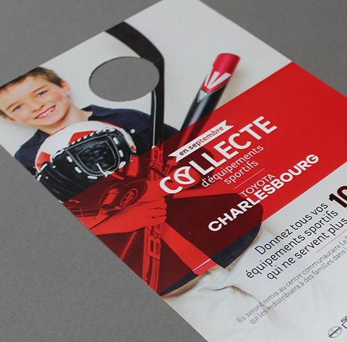 Charlesbourg Toyota / Collecte d'équipements / Beez Créativité Média