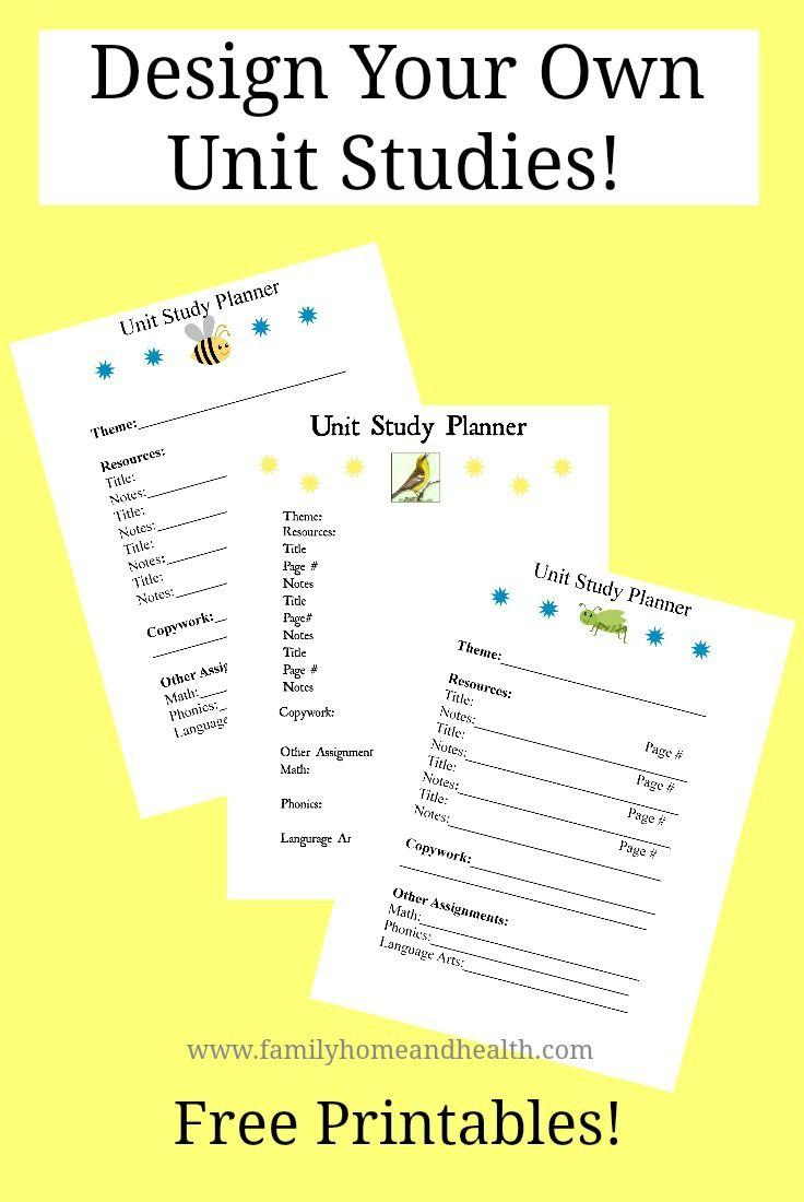 66 Best Homeschool Unit Studies images - Pinterest