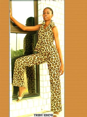 la f line en tissu africain imprim l opard 100 coton haut coup col sans manches et. Black Bedroom Furniture Sets. Home Design Ideas