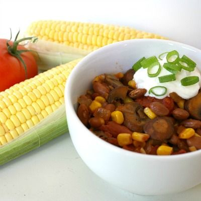 Chili, Vegetables and Summer on Pinterest