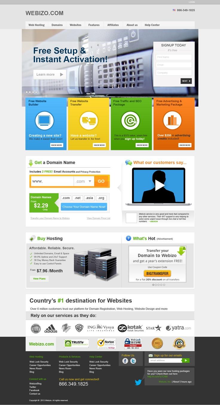 Webizo Website | Homepage Concept