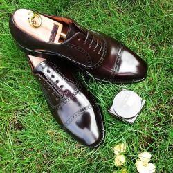 "patinepl: ""MTO Cordovan Shoes ❤️ #patineshoes #patinepl #patinelover #shoes #shoestagram #shoelover #shoeporn #mnswr #gent #shoeshine #saphir #classicshoes #fashion #fashionlover #fashionformen #shoesformen #gentleman #dapper #schuhe #mensstyle..."