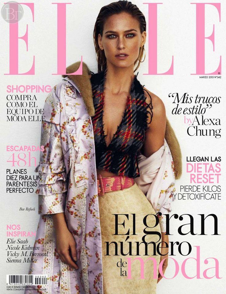 Бар Рафаэли для Elle Испания, март 2015.