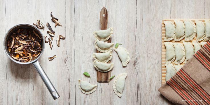Pierogi z zieloną soczewicą. Ulubione ciasto na pierogi | Karo in the Kitchen