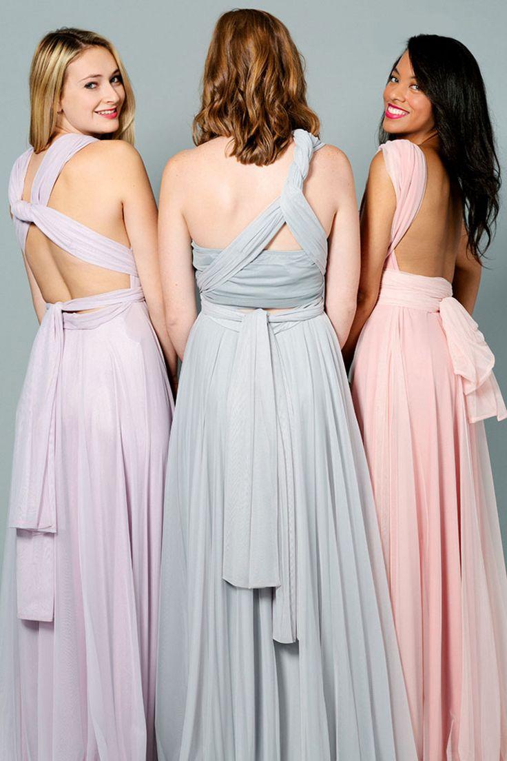 2 birds bridesmaid dresses original