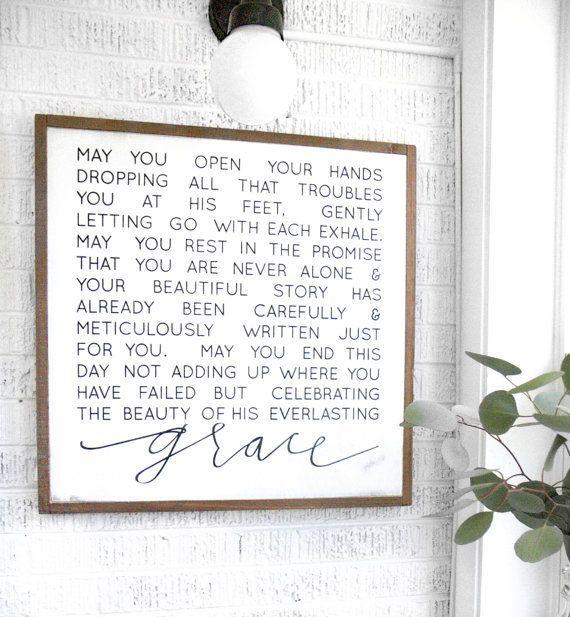 Amazing Grace Wall Decor best 25+ grace sign ideas on pinterest | burlap cross, barn board