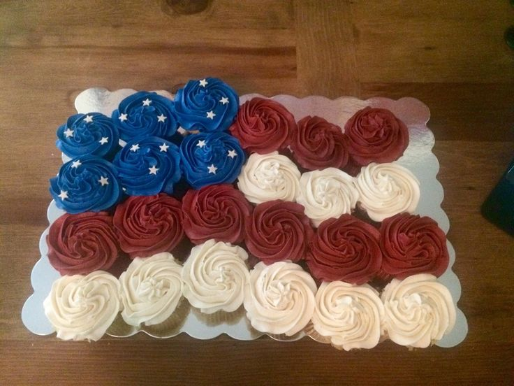 American Flag Pull Apart Cake For The 4Th  on Cake Central