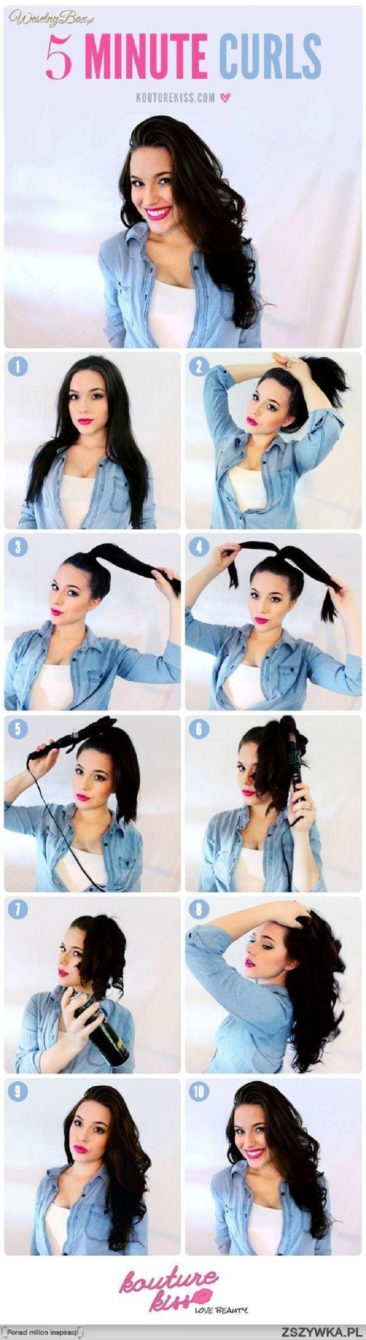 Top 10 Super Easy 5-Minute Hairstyles For Busy Ladies