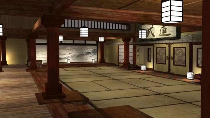 our tradition Japanese dojo personally I love to go in here to meditate, train, and more! (enter entrance, go upstairs, 2nd to last door on the left)
