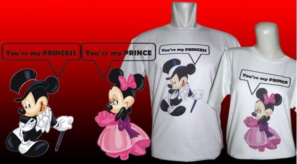 Kaos Couple : Mickey Minnie - Jual kaos couple, kaos custom, kaos anak, kaos dewasa, kaos souvenir ulang tahun, kaos event, dll SMS / WA : 087880741923, PIN BB : 228CCF29