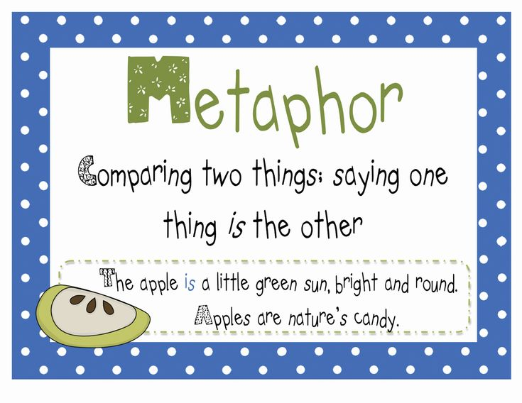 Simile, Similes and metaphors and For kids on Pinterest