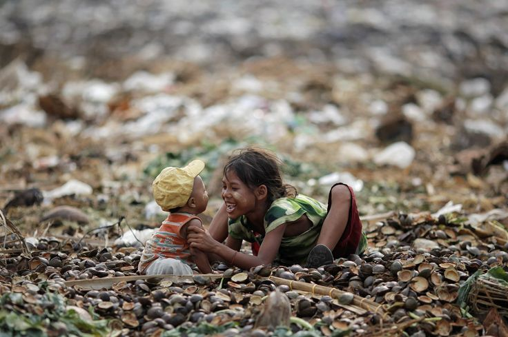 In world's poorest slums, landfills and polluted rivers become a ...