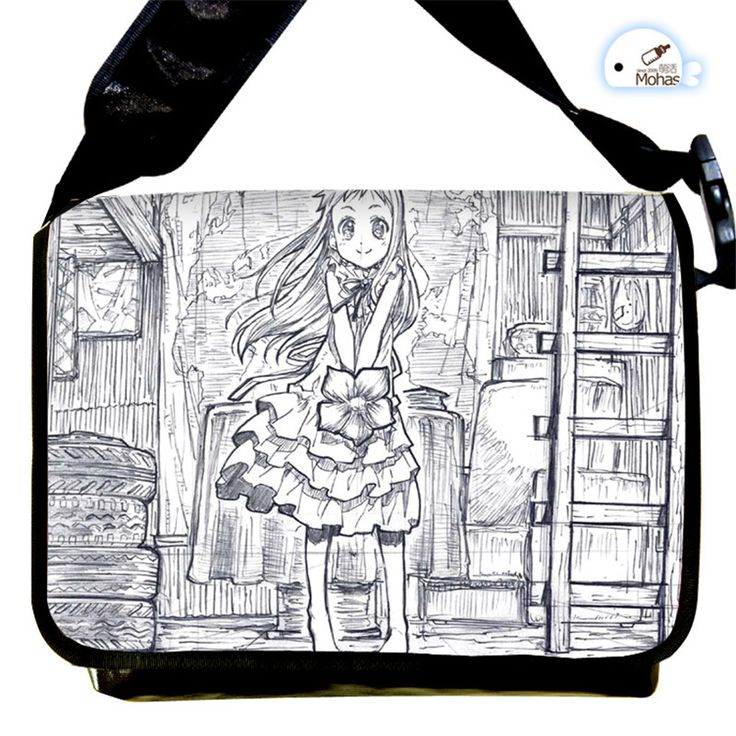 Anohana Messenger Bag Students Shoulder Bags for School Cartoon Cosplay Crossboy Bags Free Shipping #Affiliate