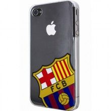 Carcasa FC Barcelona iPhone 4 y 4S - Escudo Cristal  CO$ 54.459,36