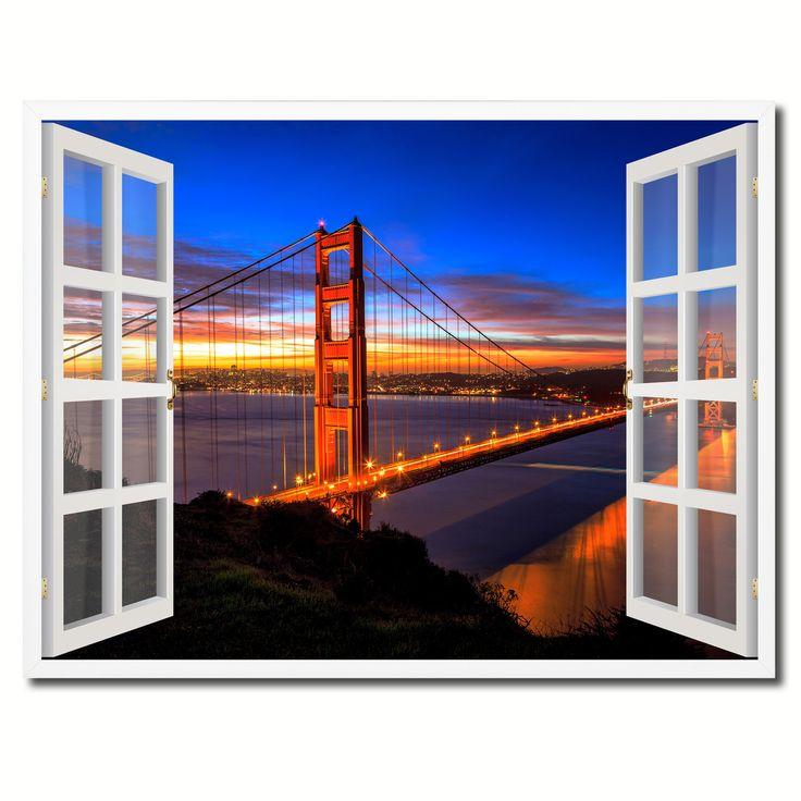 Golden Gate Bridge San Francisco California Sunset Picture: Golden Gate Bridge San Francisco California Sunset Picture