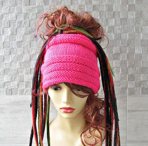 Lovely Tube Hat Dreadlocks Headband Wrap Winter Accessory Hot