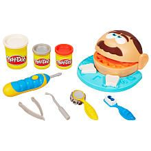 WHAT?!?  Play Doh Doctor Drill 'n Fill Playset.  This sounds like torture.  Comes with silver doh so you can MAKE FILLINGS for the teeth.  yuck