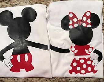 Familia Disney camiseta   camisas personalizadas Mickey y