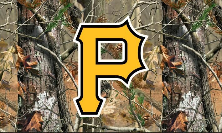 Pittsburgh Pirates real tree camo Flag 90x150cm 2 metal grommets 100D polyester digital print banner