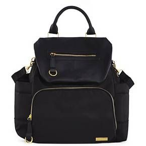 Skip Hop Chelsea Downtown Chic Diaper Backpack, Black : Target