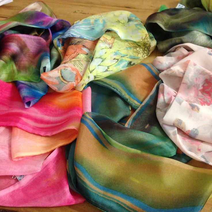 Crepe Chiffon Infinity Scarves by Tangled Robin From $20
