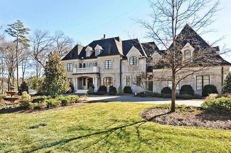 Mansion dream house: Country Club Masterpiece – 11 Oak Road, Salisbury, North Carolina, United States, 28144