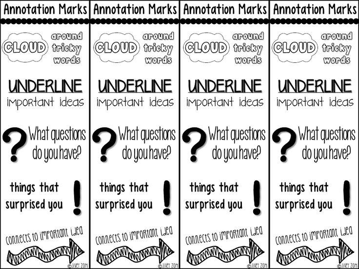 Annotation help