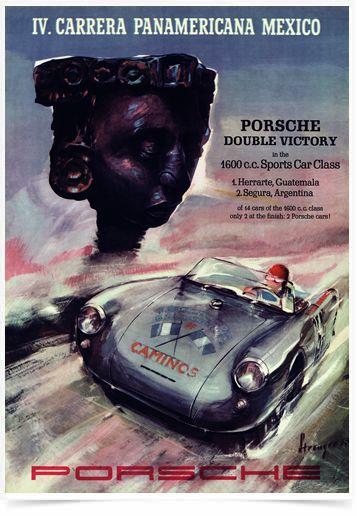 Poster Carros IV Carrera Panamericana Mexico - Decor10