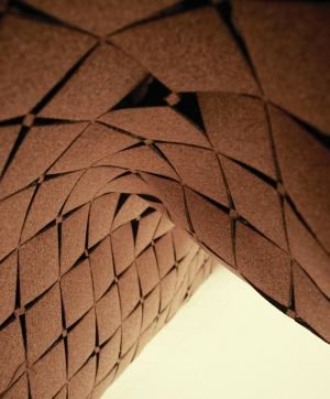 Laser Cut Cork Surfaces Created By London Based Designer Yemi Awosile Are