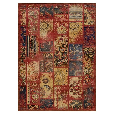 "I pinned this Momeni Vintaged 5'3"" x 7'9"" Rug from the Style Study event at Joss & Main!"