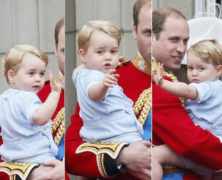Veja fotos do bebê George em evento oficial e tente não se derreter com a fofura - Fotos - R7 Famosos e TV