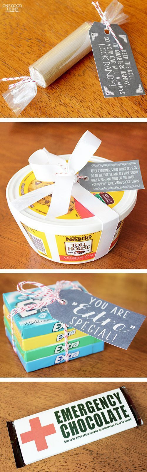 Last Minute Stocking Stuffer  Neighbor Gift Ideas With FREE Printables! | One Good Thing By Jillee