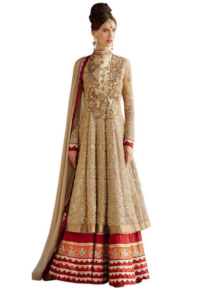 Bollywood Designer Pakistani Indian Salwar Kameez Anarkali ...