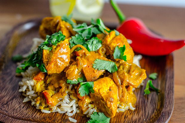 Healthy Coconut Chicken Curry | eHow Food