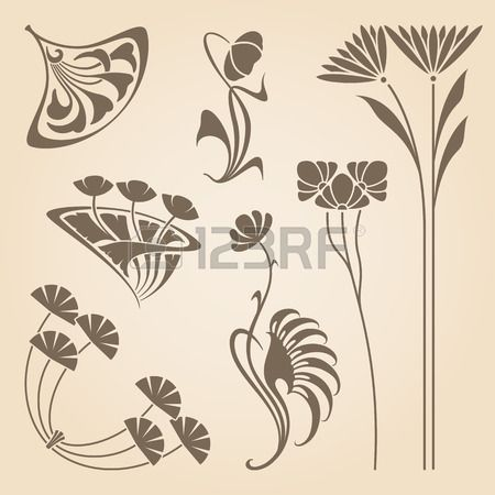 Vector set of vintage art des éléments de conception de nouveau. Banque d'images - 36399890