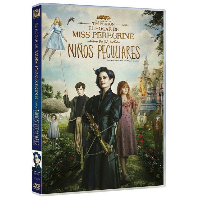 El Hogar De Miss Peregrine Para Ninos Peculiares Dvd En 2020 Miss Peregrine Ninos Peculiares Y Ninos