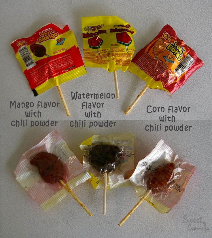 Mexican Spicy Lollipops