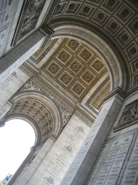 Arc de Triomphe - Paris, France.