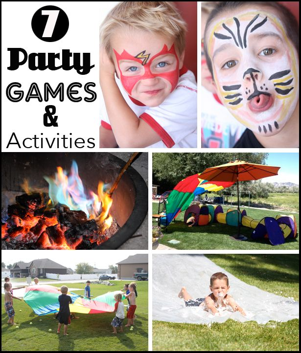 Party Games and Activities for Kids