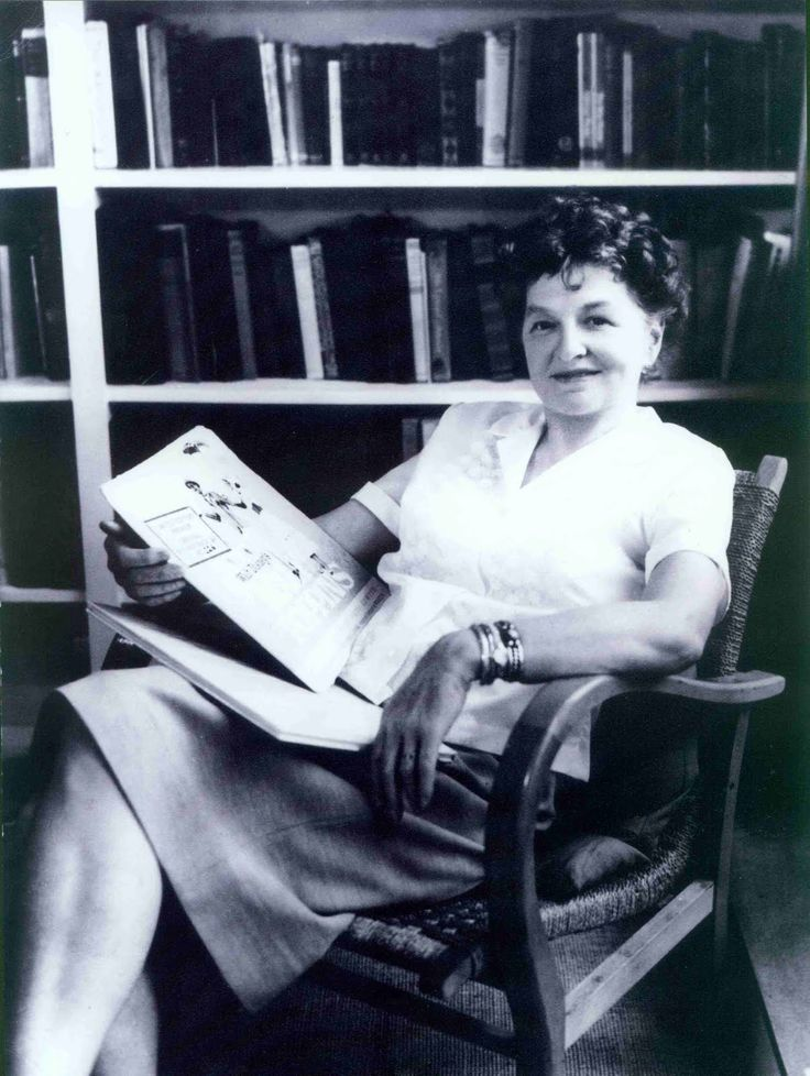 P L Travers, creator (or, rather, discoverer) of Mary Poppins