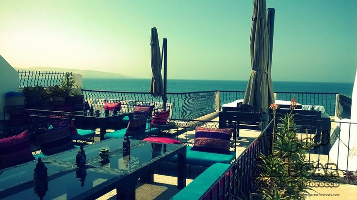 Dfrost Almugar Surf & Yoga House, Morocco Ocean front terrace