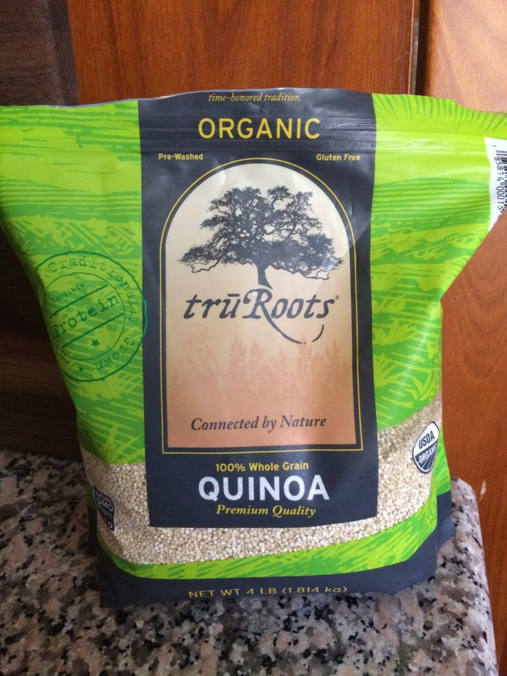 Make your own quinoa baby cereal