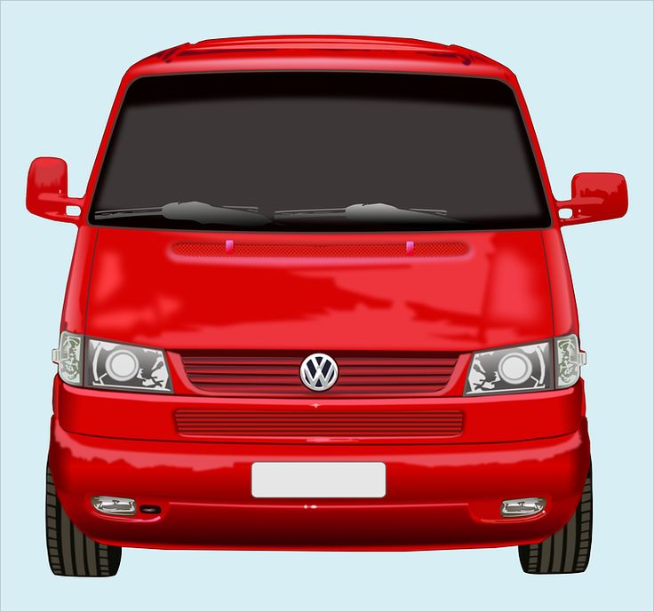 Bil, Automobil, Volkswagen, Bus, Fragt, Bære, Levering
